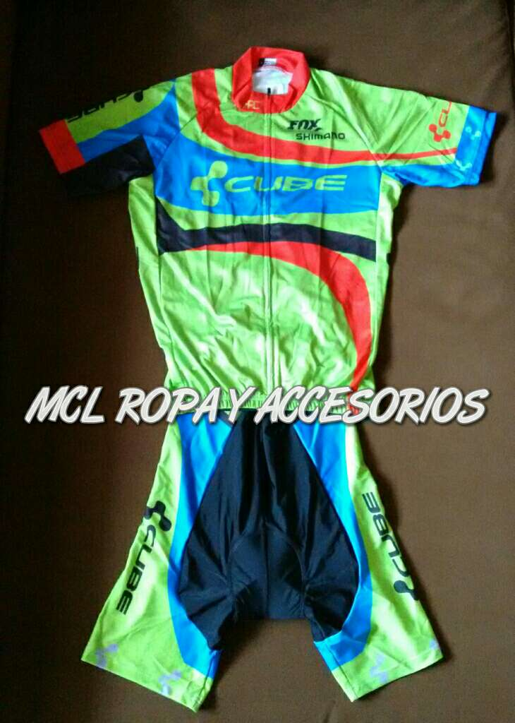 Imagen producto Maillot + cullote mod. Cube 1