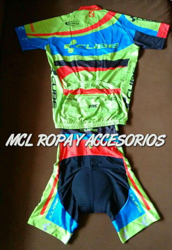 Imagen producto Maillot + cullote mod. Cube 2