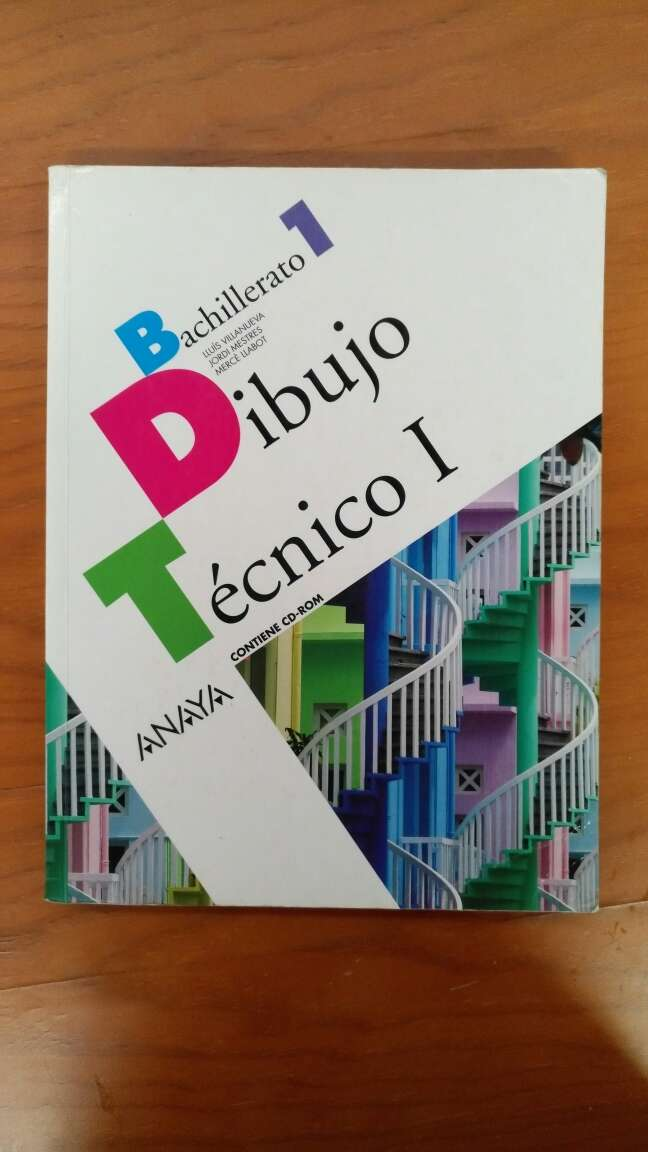Imagen Libro de texto - Dibujo Técnico I