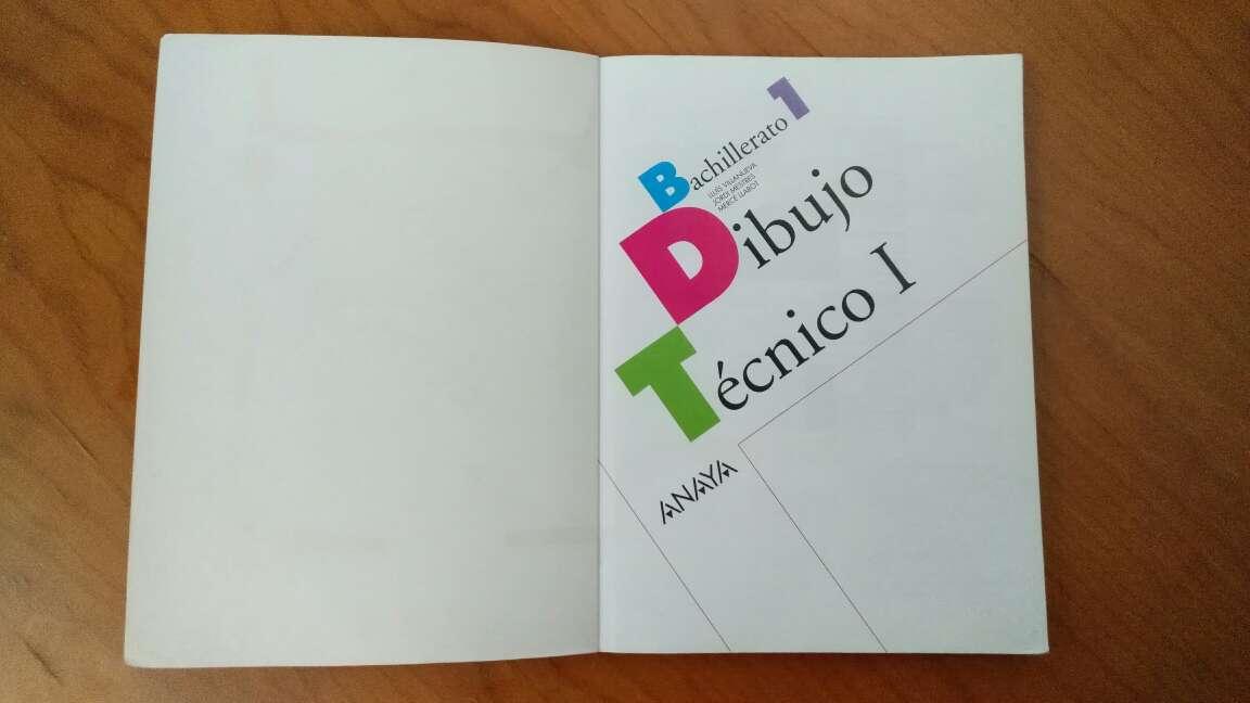 Imagen producto Libro de texto - Dibujo Técnico I 2