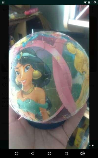 Imagen producto Puzzle bola de las princesas Disney. 2