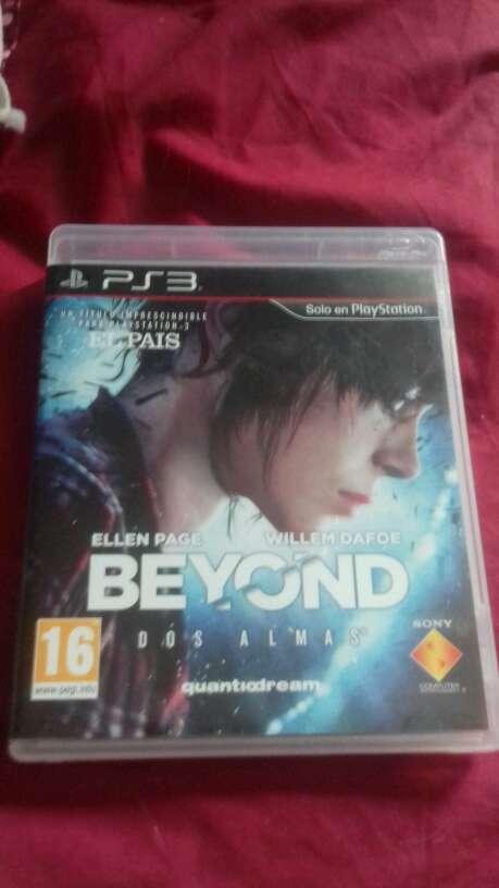 Imagen vendo videojuego beyond two souls para play 3