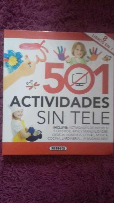 Imagen vendo libro de 501 actividades que hacer sin tele