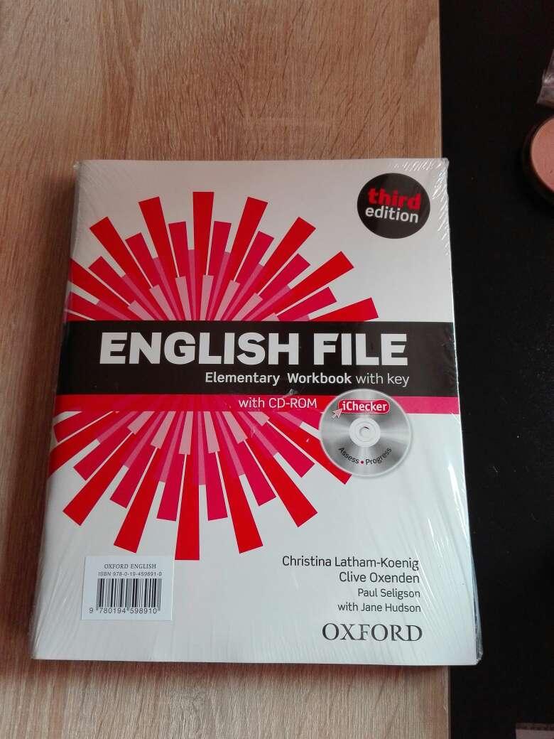 Imagen producto Precintado english file A1 2