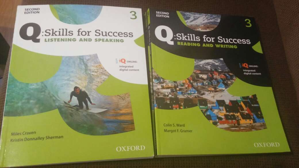 Imagen libros de ingles b1 Q; skills for success