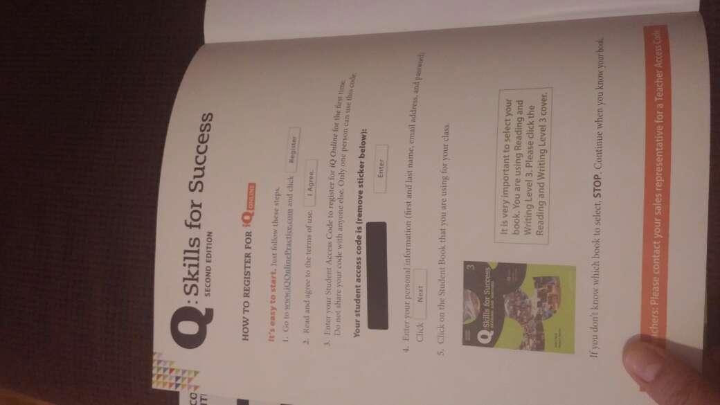Imagen producto Libros de ingles b1 Q; skills for success 4