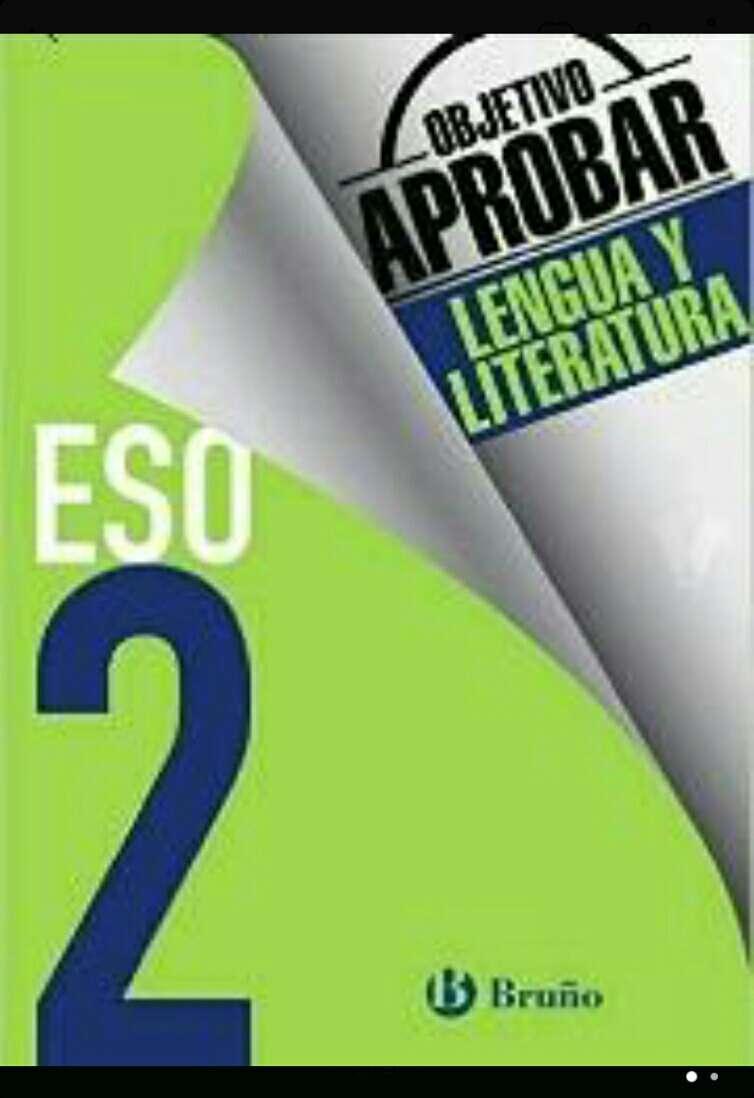 Imagen Cuaderno Objetivo aprobar Lengua y Literatura 2 ESO