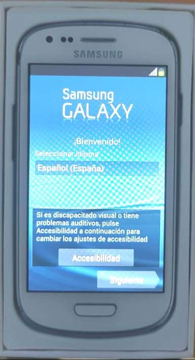 Imagen samsung galaxy s3 mini