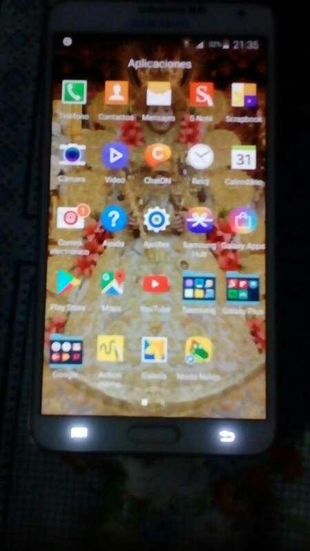 Imagen Note 3 se cambia por replica iphone