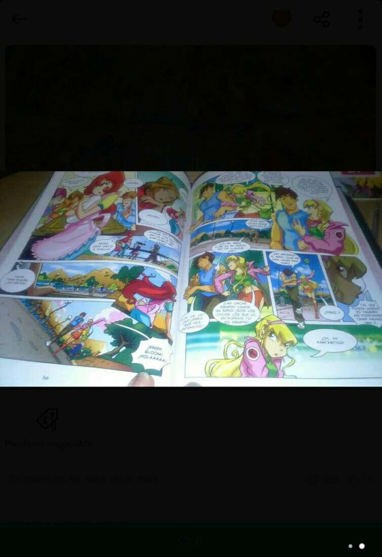 Imagen producto Lote de cómics Winx Club 2