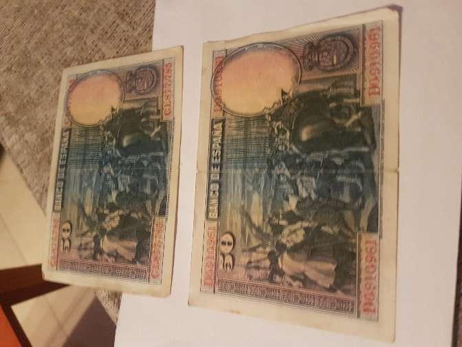 Imagen Billetes pesetas