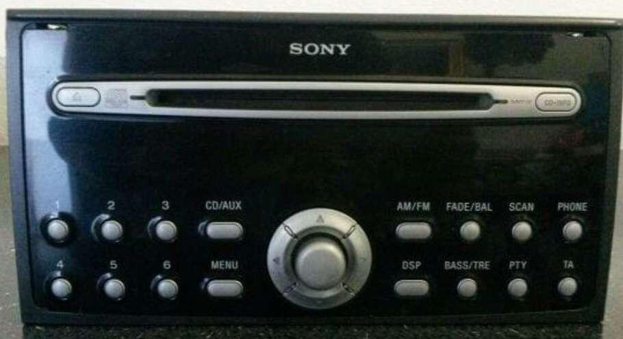 Imagen Radio Original Ford Mondeo Sony 6000CD