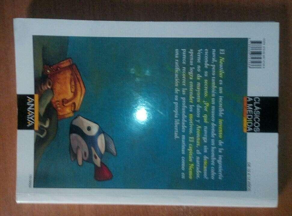 Imagen producto Veinte mil leguas de viaje submarino(p.negociable) 2