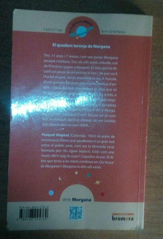Imagen producto El quadern taronja de Morgana(p.negociable) 2