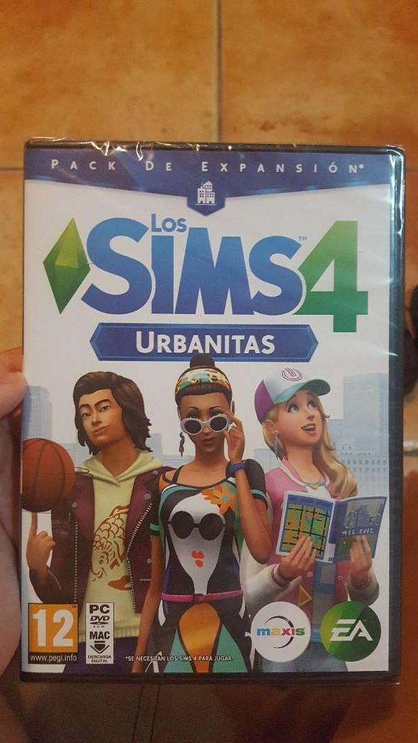 Imagen videojuego sims 4 urbanitas