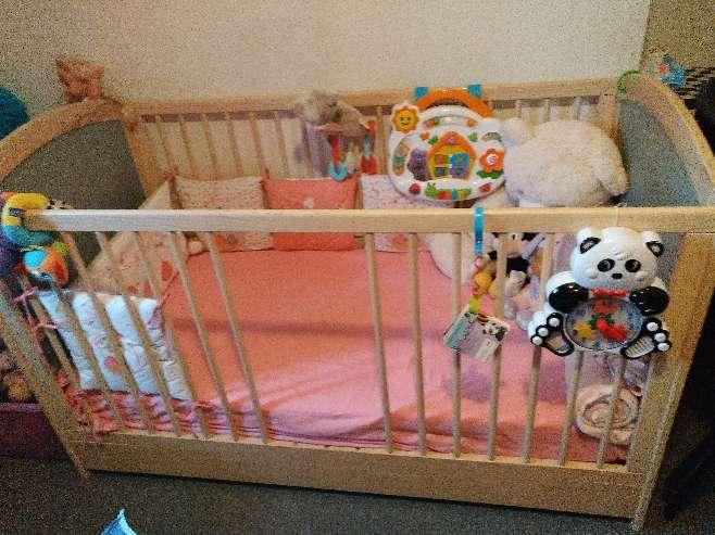Imagen producto Armario cama-cuna cambiador y colchon  2