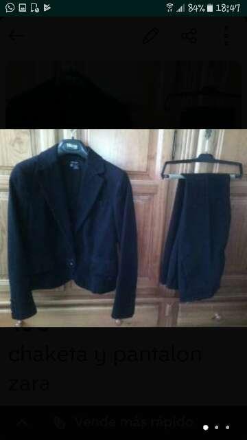 Imagen chaqueta y pantalon zara