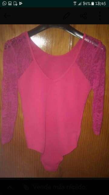 Imagen producto Body larga rosa 1