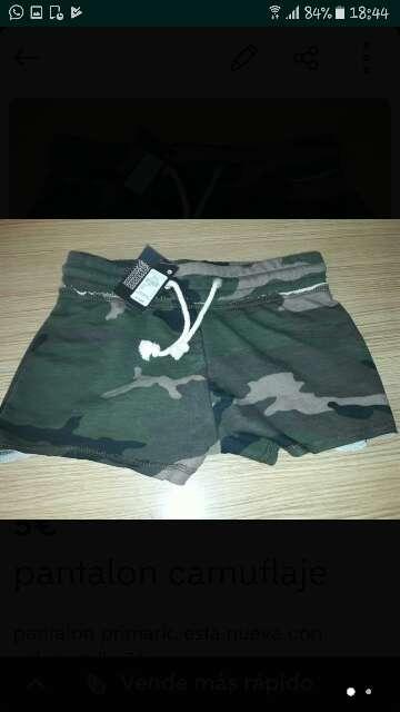 Imagen pantalon camuflaje primark