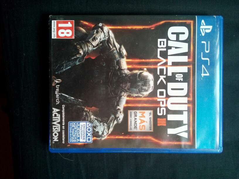 Imagen Call of duty Black Ops 3 Ps4