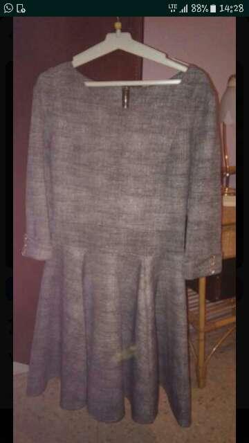 Imagen vestido gris
