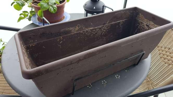 Imagen jardinera balcon