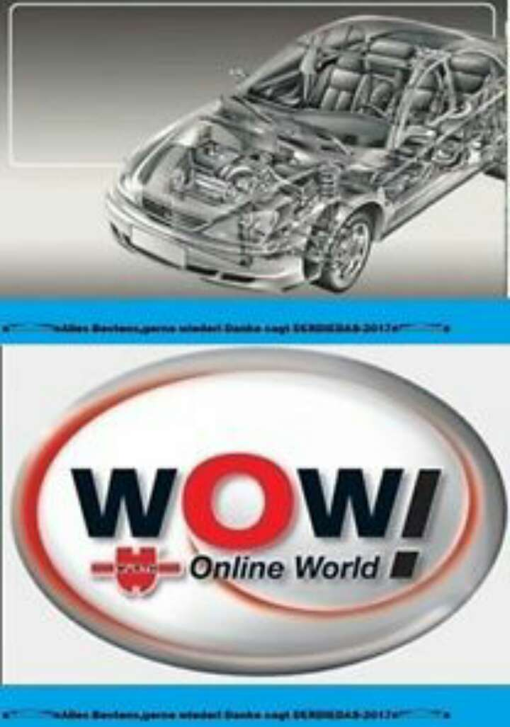Imagen cd programa wow 5.00.8 en español para usar o cd delphi 2015r3 en español.