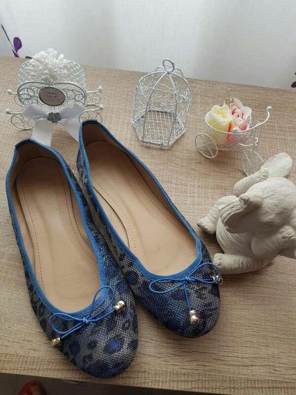 Imagen producto Sabrinas azul purpurina 2