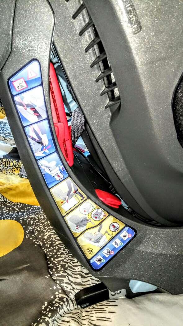 Imagen producto Silla coche infantil Isofix 4