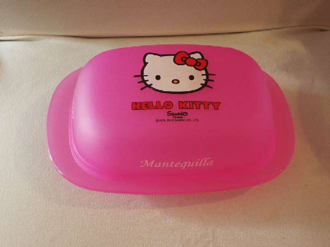 Imagen Mantequillera Hello Kitty