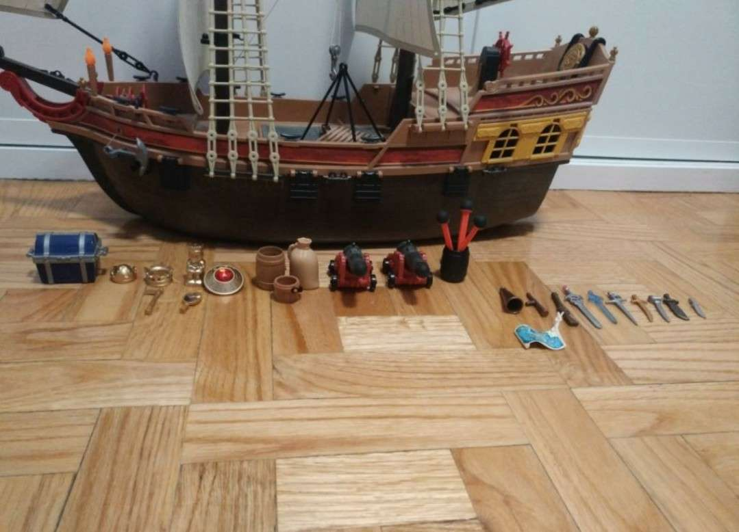 Imagen producto Barco pirata de Playmobil 3