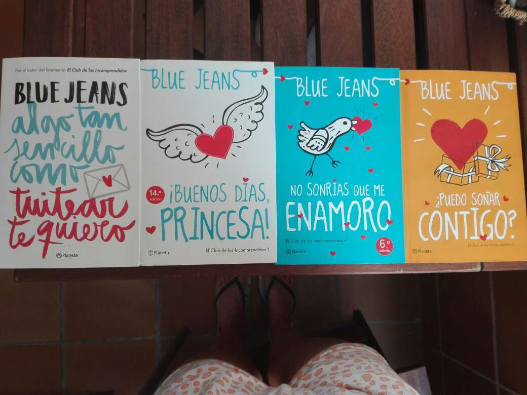 Imagen Pack libros Blue Jeans