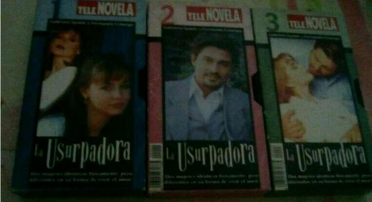 Imagen vhs telenovela