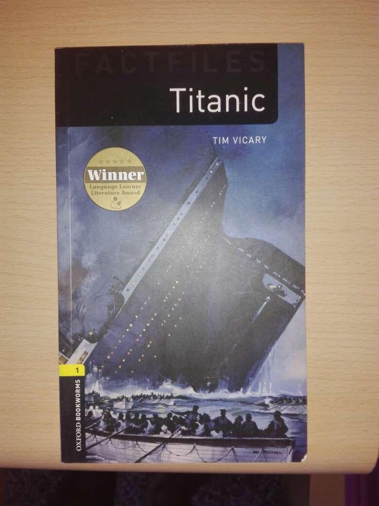 Imagen libro Titanic en inglés