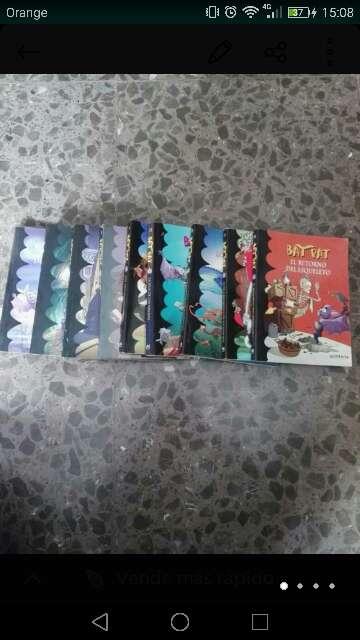 Imagen Bat Pat libros infantiles