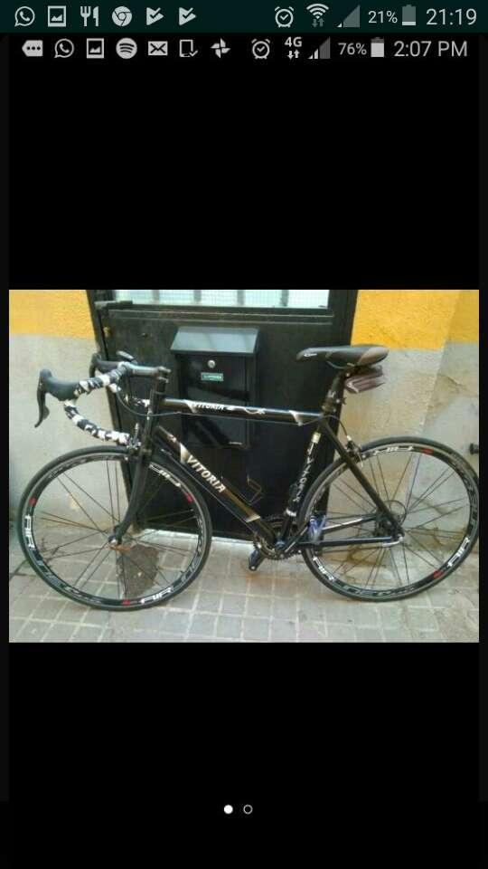 Imagen bicicleta de carreras precio negociable