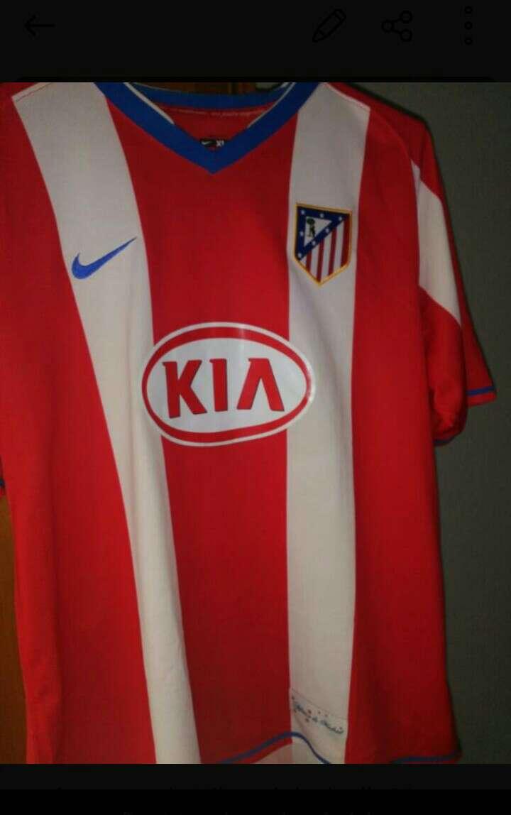 Imagen camiseta atletico de Madrid 2007/2008