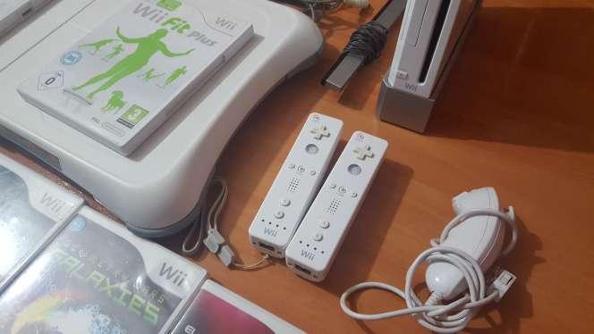 Imagen producto Wii blanca más juegos 3