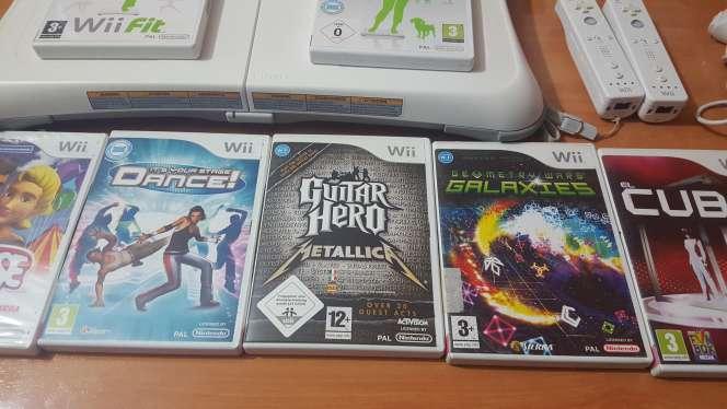 Imagen producto Wii blanca más juegos 4