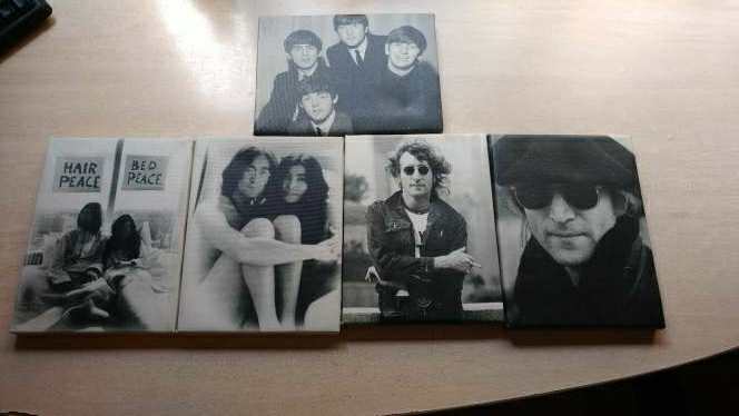 Imagen Cuadros John Lennon - Beatles