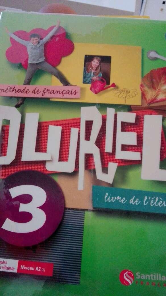 Imagen libro de lectura pluriel de francés 3 de la eso