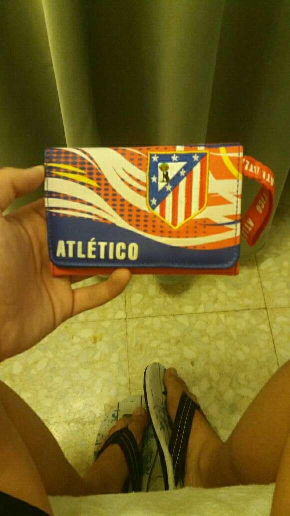 Imagen cartera del Atlético de Madrid