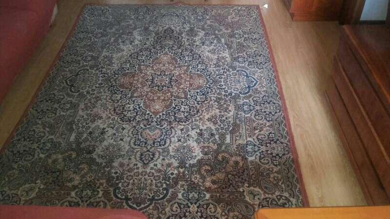 Imagen alfombra sacada del tinte