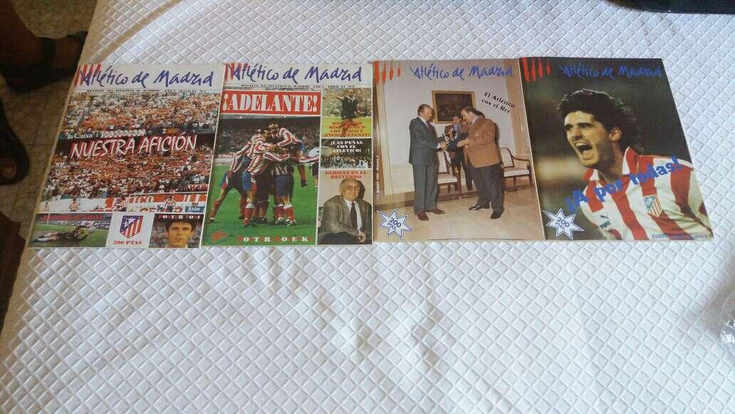 Imagen revistas antiguas Atlético de Madrid