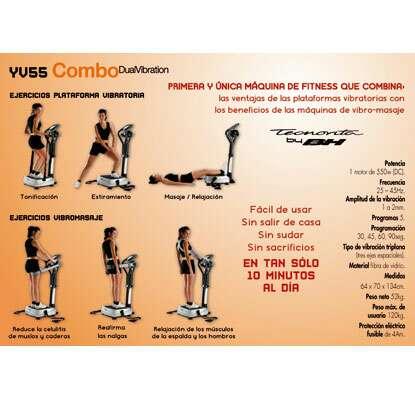 Imagen producto Plataforma Vibratoria BH Fitness Dual Vibration 4