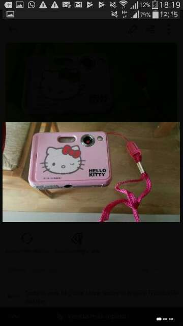 Imagen cámara Hello kitty