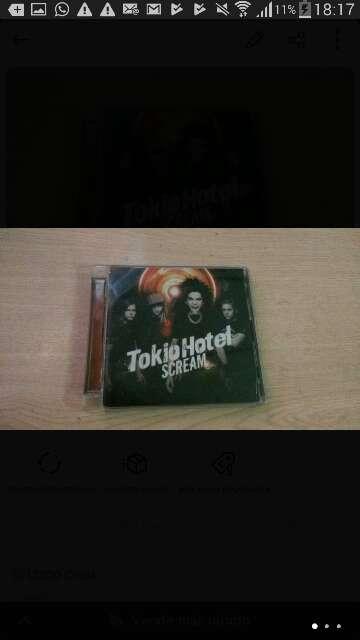 Imagen CD Tokio hotel scream