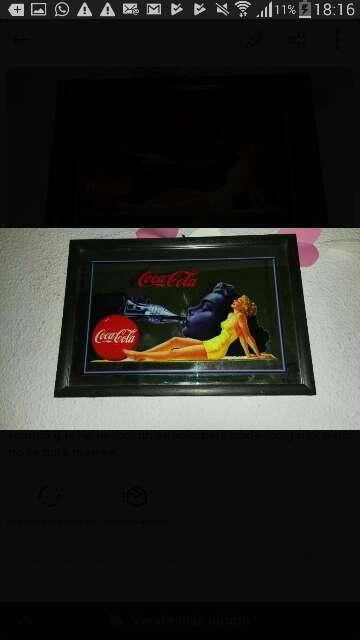 Imagen cuadro coca cola vintage