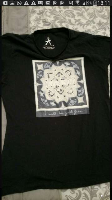 Imagen camiseta mandala
