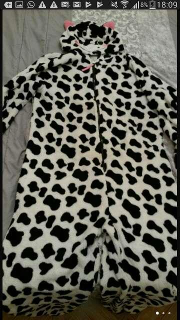 Imagen pijama de vaca